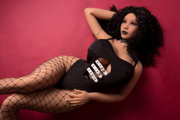 Calissa Curvy Black Sex Doll