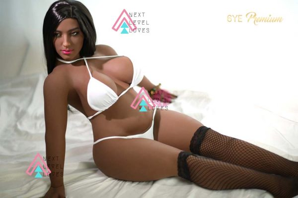 Alaina Small Black Sex Doll