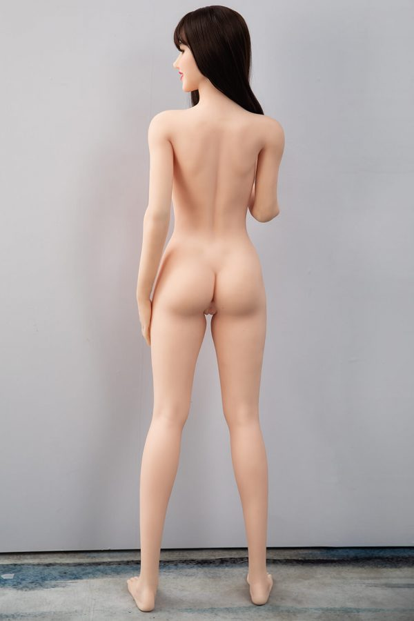 Nell 168cm realistic European sex doll, full rear view
