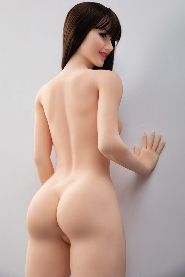 Nell 168cm realistic European sex doll, rear view
